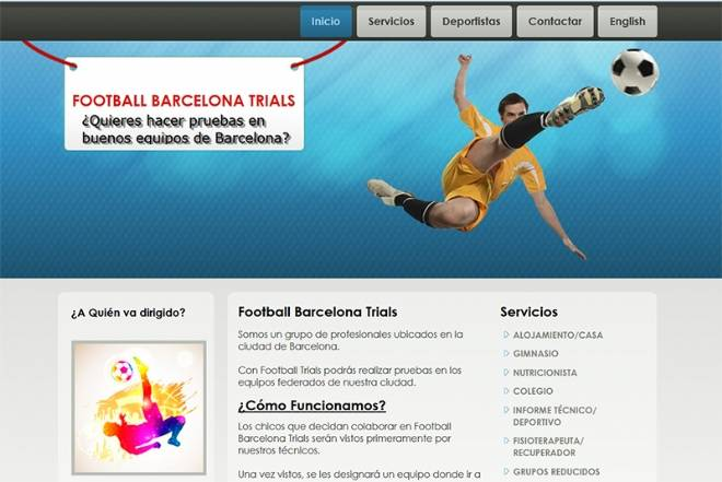 Football Barcelona Trials